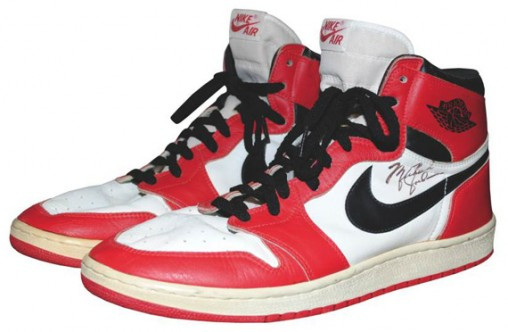 MJ's Air Jordan Shoes