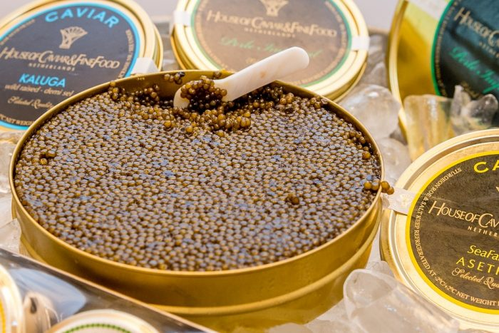 Delicacy Food Caviar Eat