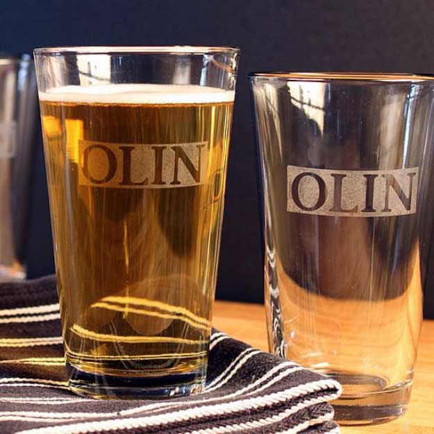 Do it yourself etched glass