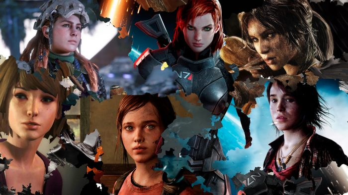 female characters in video games