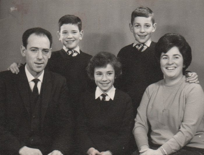 Family Photo 1960's Style