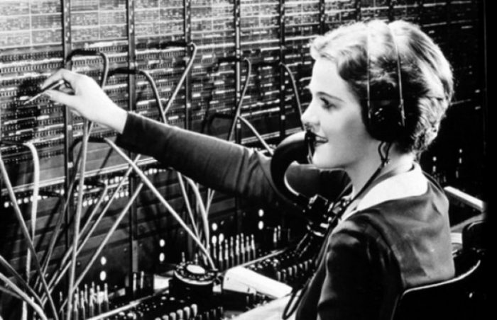 Telephone, Operator, Woman