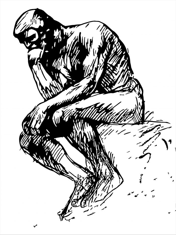 Thinker, Drawing