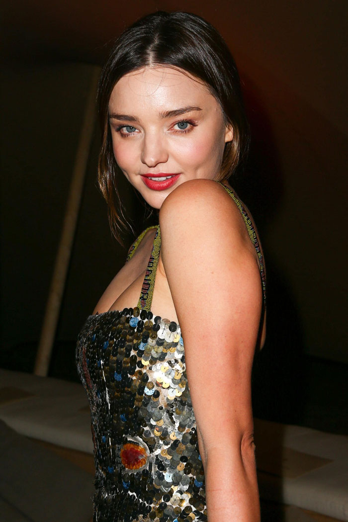 A shot of Miranda Kerr who joined the mile high club
