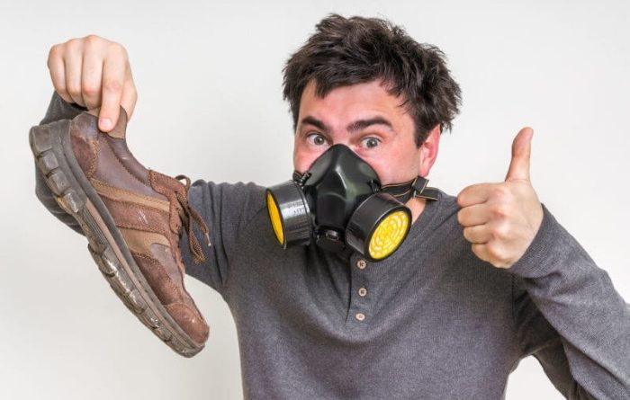There are many simple ways to fix bad foot smell.